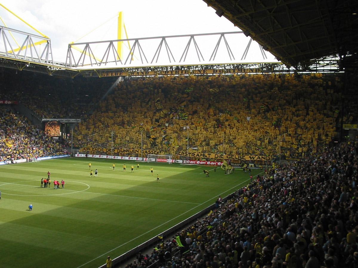 Lecimy do Dortmundu na mecz.