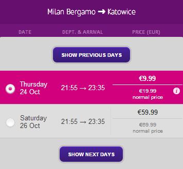 Bergamo Katowice