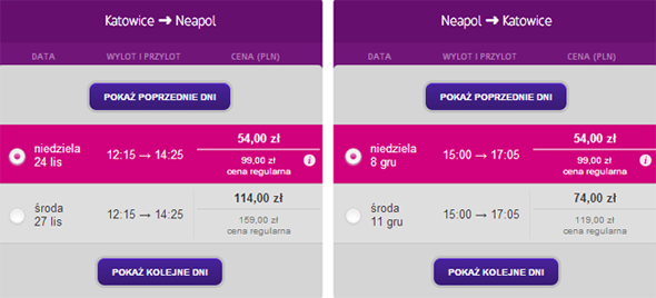 Katowice Neapol