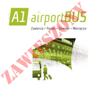 Linia AirportBus z Zawiercia na lotnisko zostaje zawieszona.