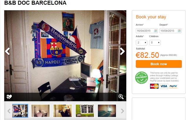 Barcelona nocleg