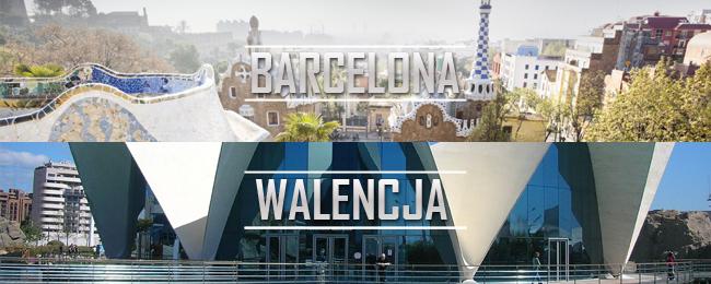 Barcelona i Walencja z Katowic za 258 PLN