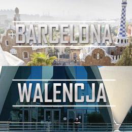 Barcelona, Walencja, Bergamo w jednej podroży z Katowic za 296 PLN