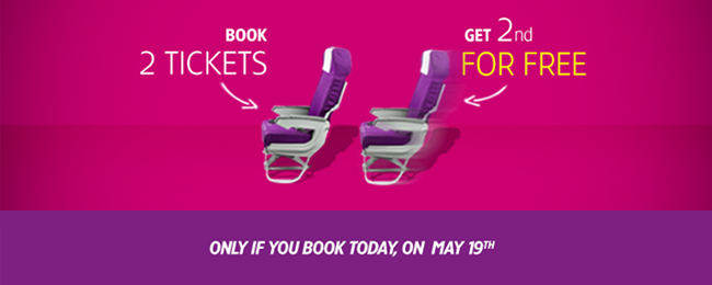 Urodzinowa promocja Wizz Air. Co druga osoba leci za darmo. Tel Awiw za 149 PLN, Kijów (sylwester) za 157 PLN, Bourgas za 194 PLN, Barcelona za 214 PLN (mikołajki)