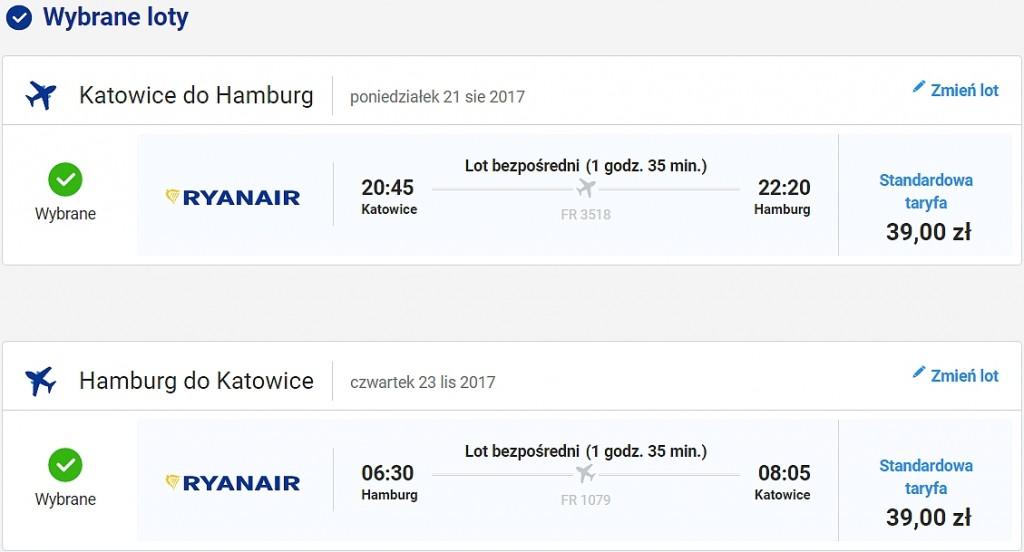 Katowice - Hamburg