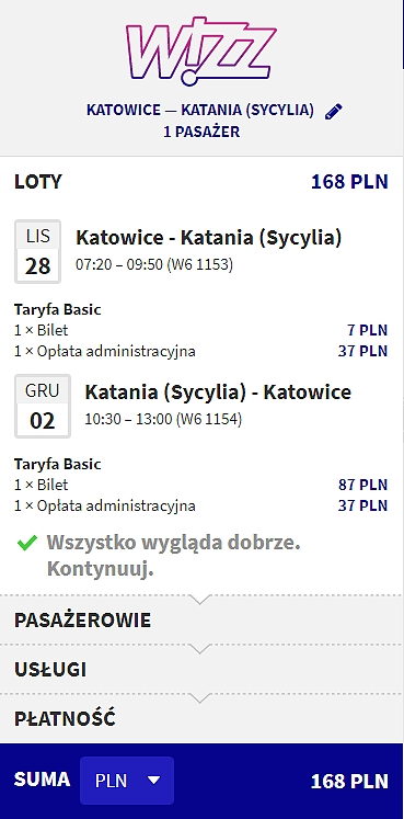 Katowice - Katania