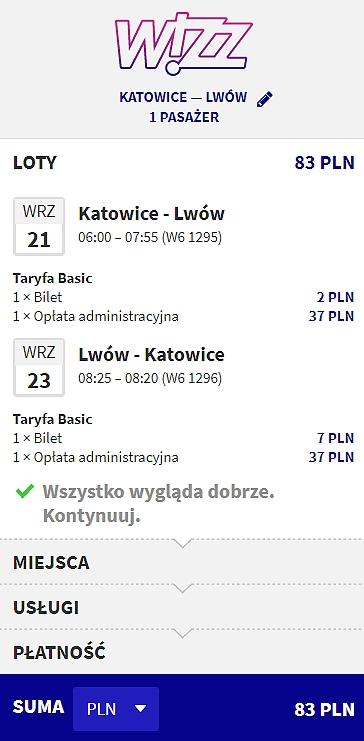 Katowice - Lwów