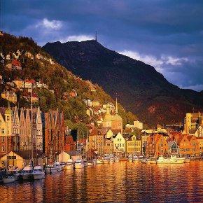 Tanie loty do Bergen za 68 PLN